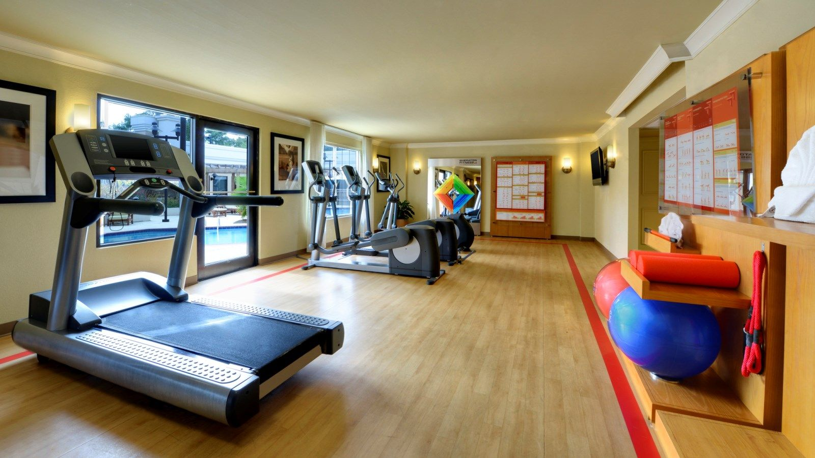 Sheraton Fitness Center | Sheraton Atlanta Perimeter North Hotel